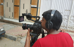 Shooting bytes on Mumbai streets by Accord production Hub