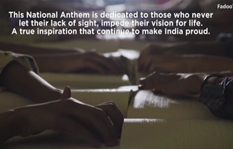 National Anthem | Salute to Visually Impaired Achievers